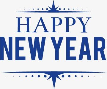 设计元素 字体效果 中文字体 > happy new year