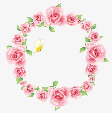 设计元素 其他 装饰图案 > 玫瑰花环  [版权图片] 找相似下一张 >