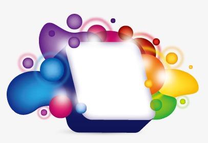 彩色节日花环模板下载(图片编号:14586446)