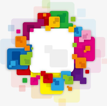 彩色节日花环模板下载(图片编号:14586448)