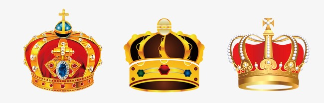 红色皇冠婚礼主题logo设计