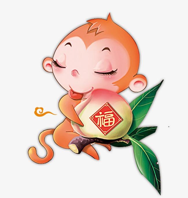 设计元素 节日素材 元旦丨春节丨元宵 > 猴子图案  [版权图片] 找相似