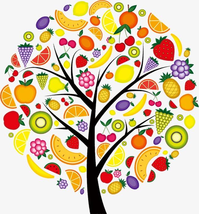 创意水果树模板下载(图片编号:14587073)_装饰图案__.图片