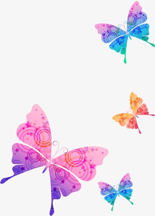 动态漂浮物素材蝴蝶