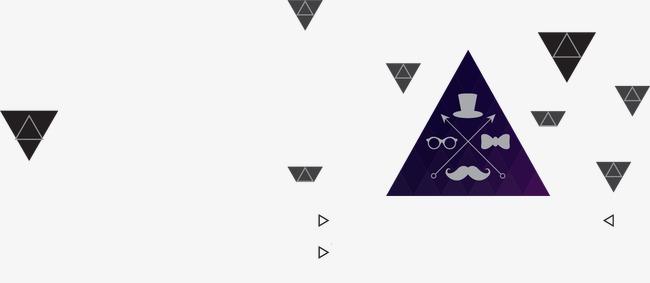 设计元素 其他 漂浮素材 > 几何三角形  [版权图片] 找相似下一张 >