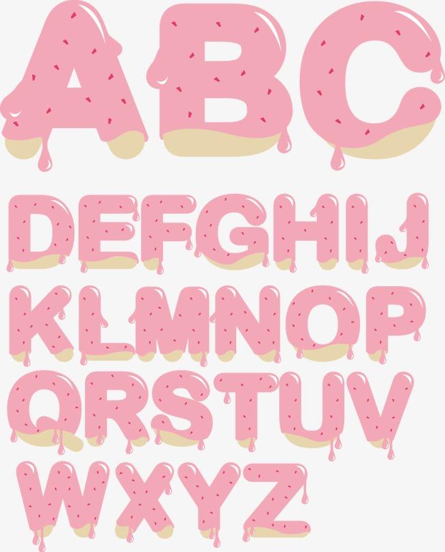 卡通26个艺术字母(图片编号:15673649)