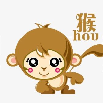 可爱卡通猴子模板下载(图片编号:14588003)
