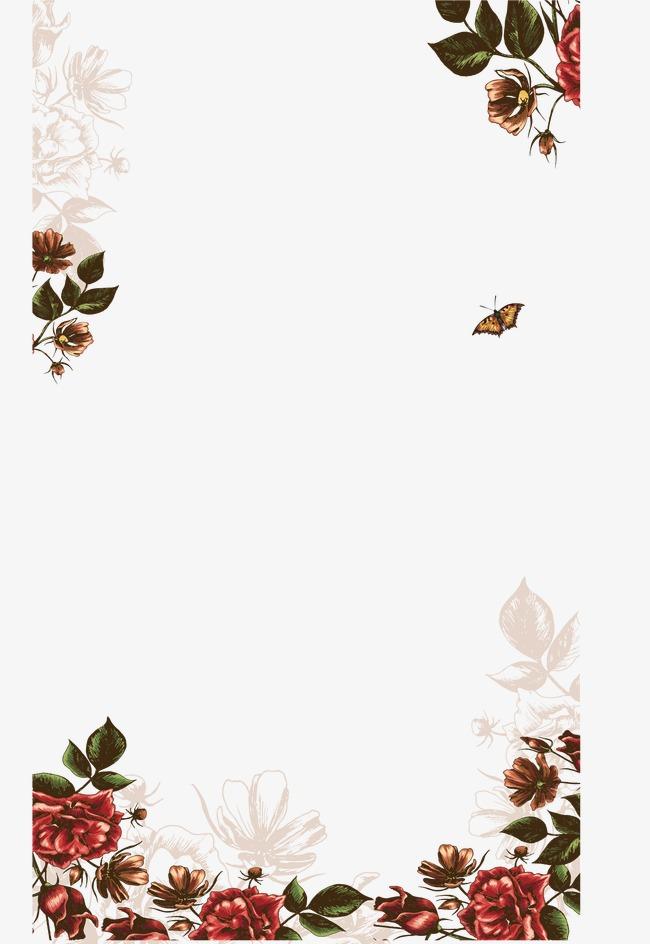 欧式花纹玫瑰花边框模板下载(图片编号:14588186)
