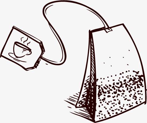 卡通手绘茶