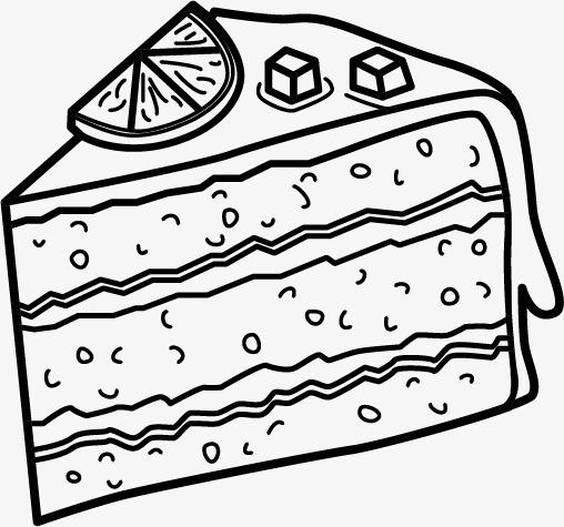 卡通手绘蛋糕模板下载(图片编号:14588870)