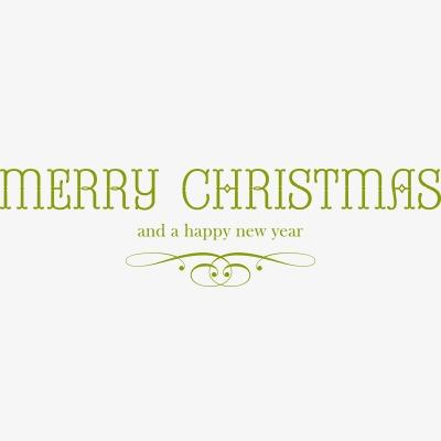 设计元素 节日素材 元旦丨春节丨元宵 > 圣诞节快乐字体  [版权图片]