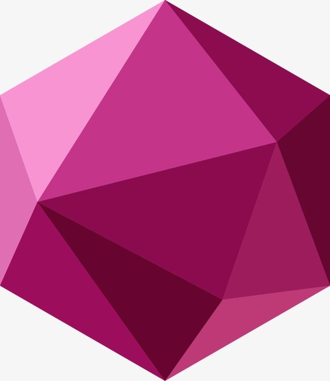 设计元素 其他 装饰图案 > 时尚多边形立体元素  [版权图片] 找相似下