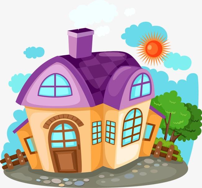 可爱卡通房子元素模板下载(图片编号:14589956)