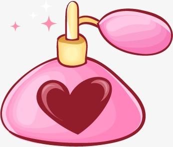 卡通美妆香水图片