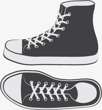 卡通手绘帆布鞋模板下载(图片编号:14590232)