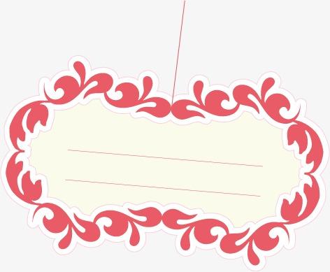 卡通花纹对话框(图片编号:15403008)