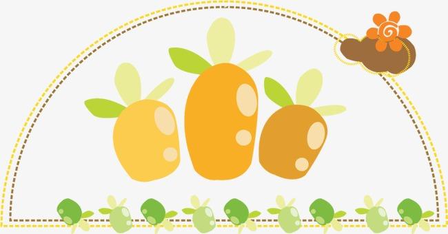 卡通清新可爱萝卜模板下载(图片编号:14590807)