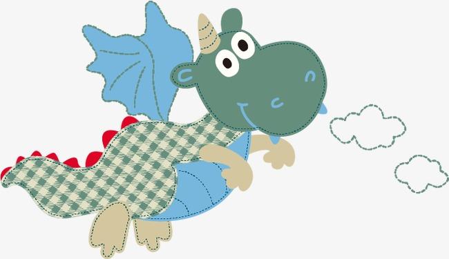 卡通可爱恐龙模板下载(图片编号:14590832)