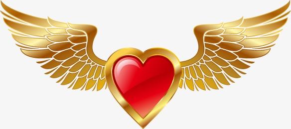首饰翅膀手绘图