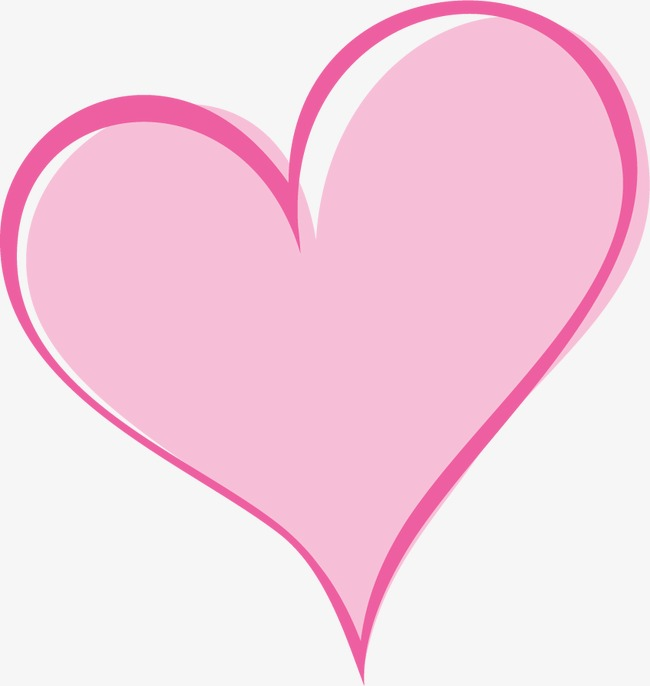 卡通手绘可爱心爱情情人节