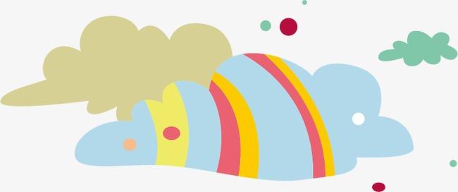 卡通云朵模板下载(图片编号:14591510)_装饰图案_其他