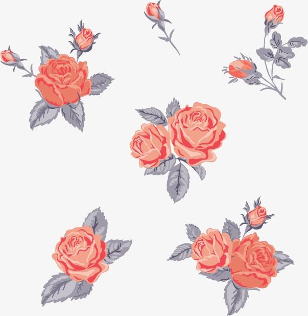 卡通手绘玫瑰花模板下载(图片编号:14591709)