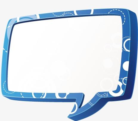 方形对话框模板下载(图片编号:14593124)