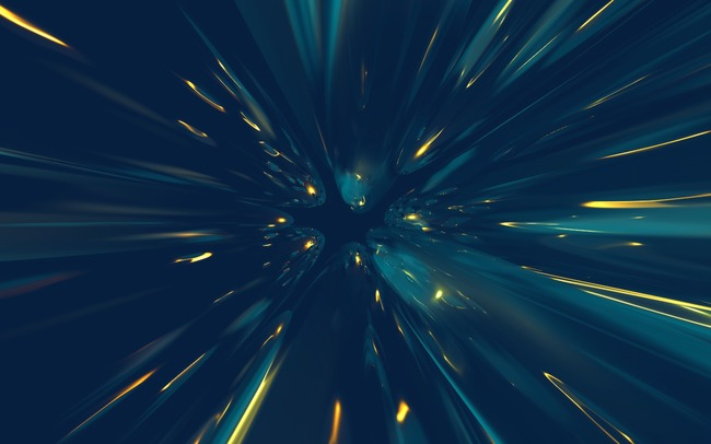 创意光影特效 炫酷蓝色放射光束素材图片免费下载_高清效果元素png_千