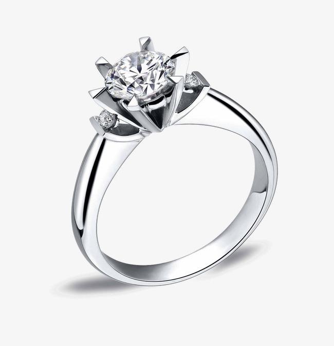 戒指素材手绘珠宝素材 钻戒图片