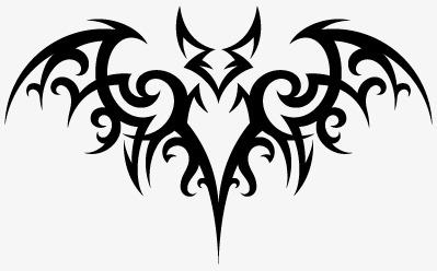 蝙蝠纹身图片