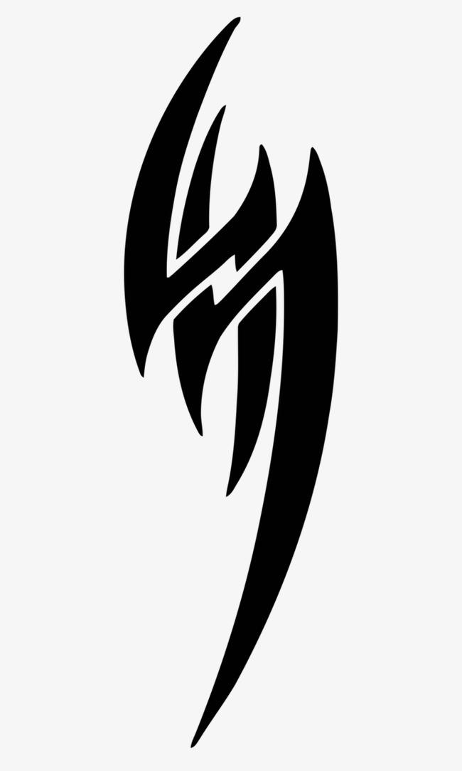 曼岛tt图标纹身