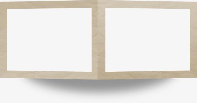 相框素材卡通相框图片 立体折纸相框
