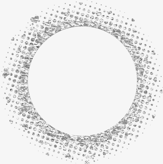 相框图标素描 圆形边框png素材-90设计