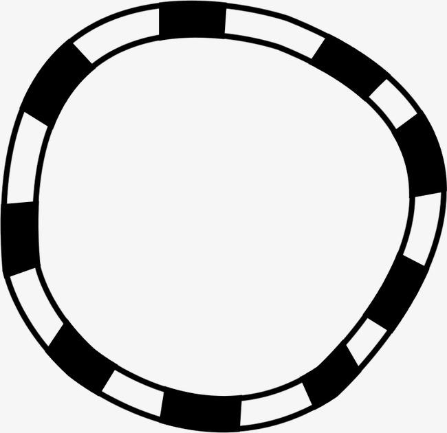 相框图片手绘边框 圆形边框素材图片免费下载 高清边框纹理png 千库网 图片编号38884图片
