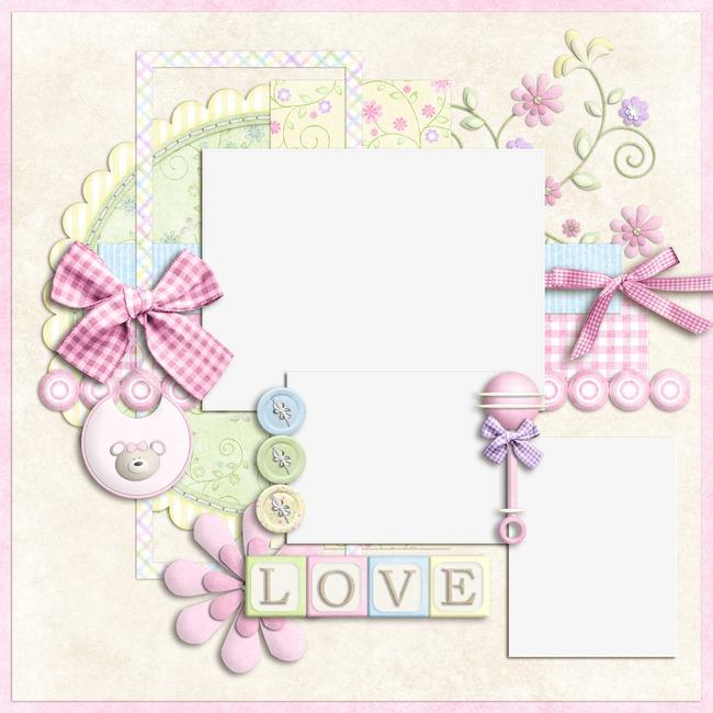 手绘卡通可爱粉色相框素材图片免费下载 高清png 千库网 图片编号图片