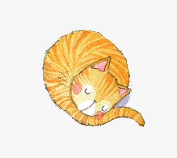 可爱卡通 卡通手绘小猫咪素材图片免费下载 高清装饰图案png 千库网