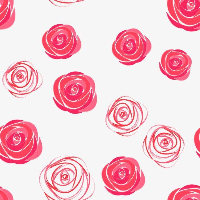 设计元素 背景素材 其他 > 浪漫玫瑰花底纹  [版权图片] 找相似下一张