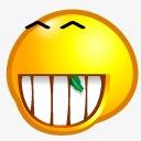 微笑搞笑表情 qq呲牙表情图片