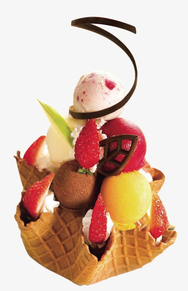 手绘饮料素材饮料素描 冰淇淋甜品