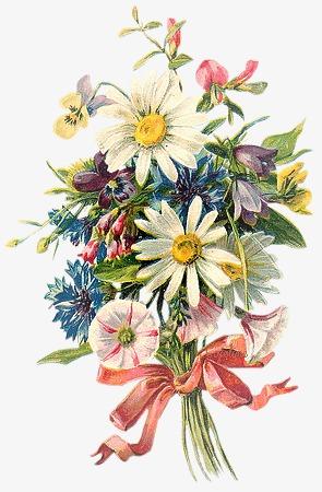 仙境元素花图片 春天唯美花簇素材图片免费下载 高清装饰图案png 千库网 图片编号61954图片