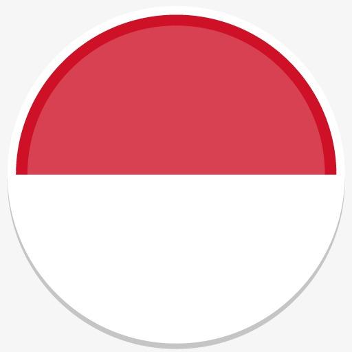 摩纳哥平圆世界国旗图标集素材图片免费下载图片