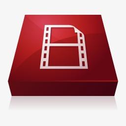Adobe Flash视频编码器图标