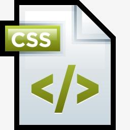 CSS文件Adobe Dreamweaver 01图标