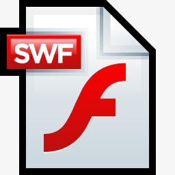 文件Adobe Flash SWF 01图标