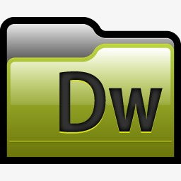 Adobe Dreamweaver Folder Icon 01