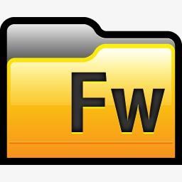 文件夹Adobe烟花01图标