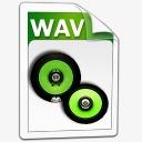 WAV音频图标