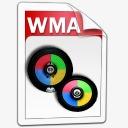 的WMA音频图标