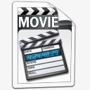 视频电影图标