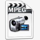 MPEG视频图标